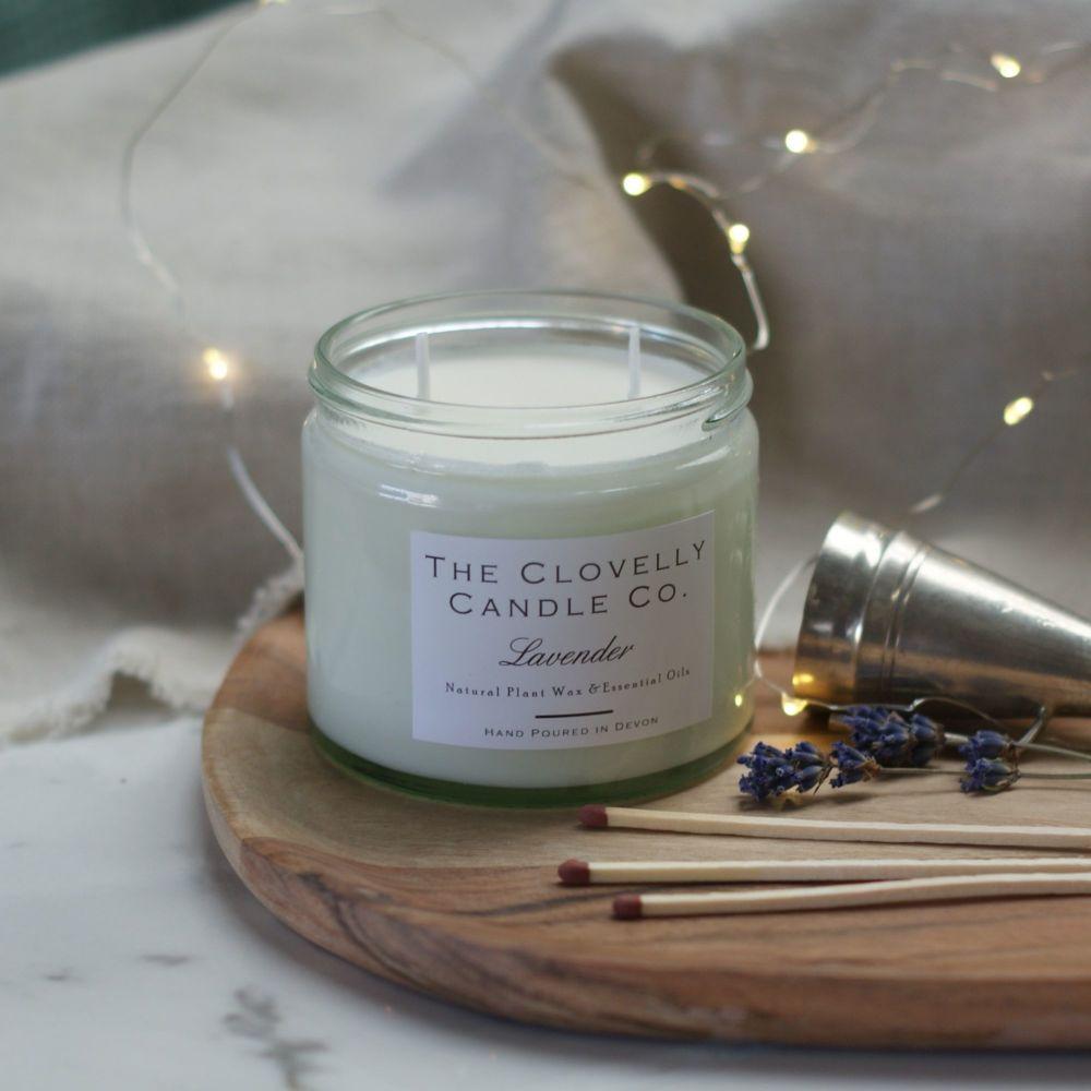 Lavender  Aromatherapy Jar Candle