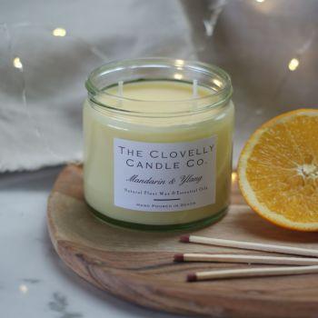 Mandarin and Ylang Aromatherapy Candles
