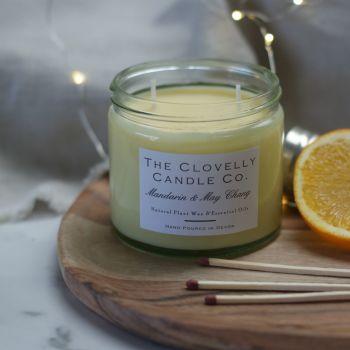 Mandarin and May Chang Aromatherapy Candles