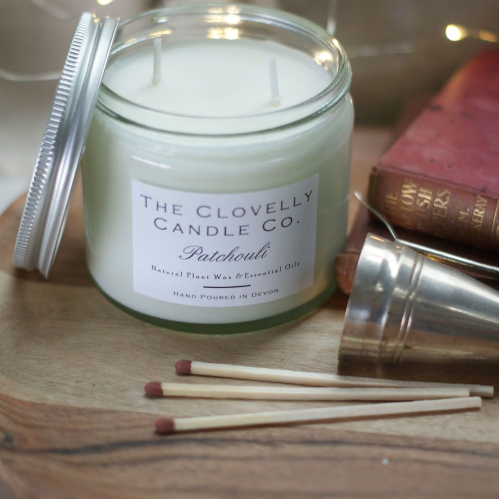 Patchouli Aromatherapy Jar Candle