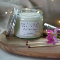 Rose Geranium Aromatherapy Candles