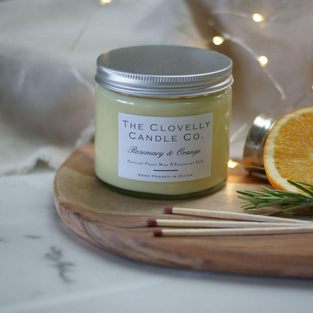 Rosemary and Orange Aromatherapy Candles