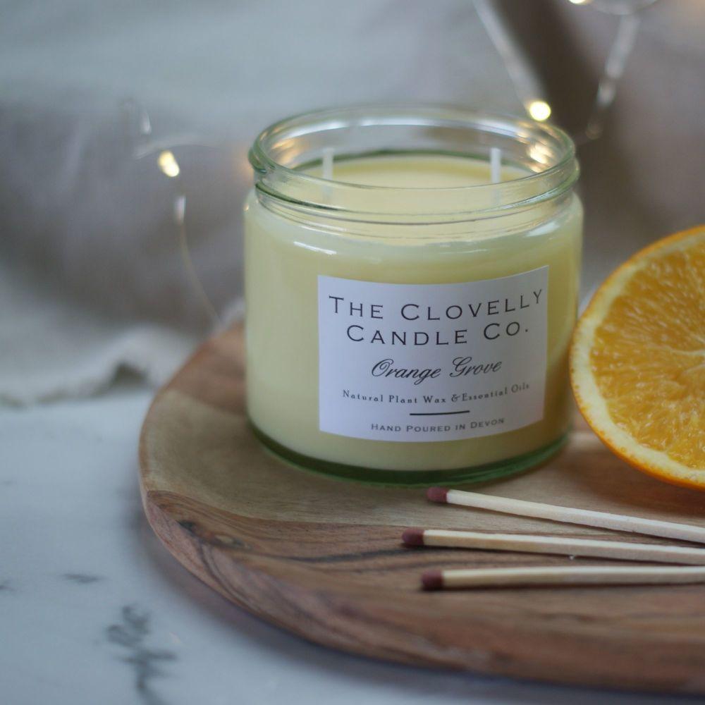 Orange Grove Aromatherapy Candle