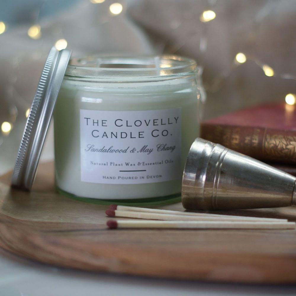 Sandalwood & May Chang Candles