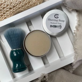 Aromatherapy Shave Soaps in Tin