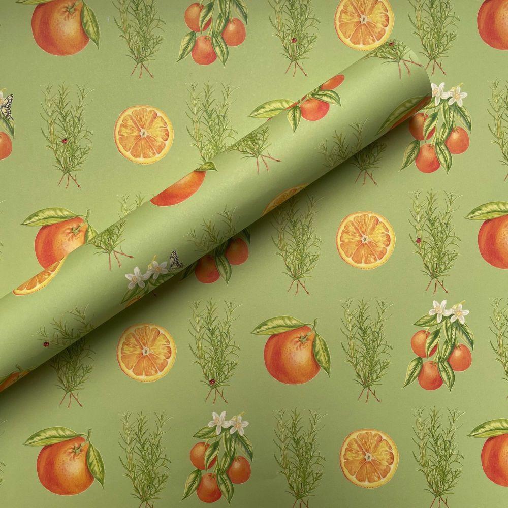 Rosemary & Orange Gift Wrap