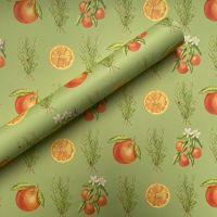 Rosemary & Orange Hand Drawn Gift Wrap