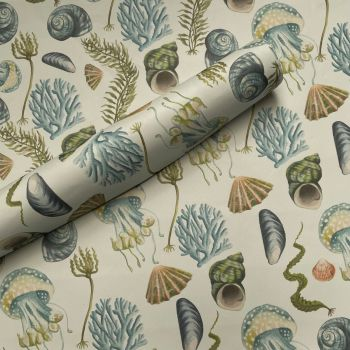 Sea Inspired Gift Wrap