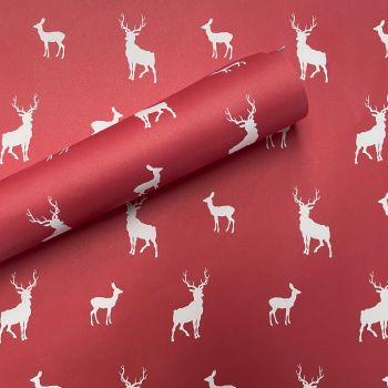 Stags & Does Christmas  Gift Wrap
