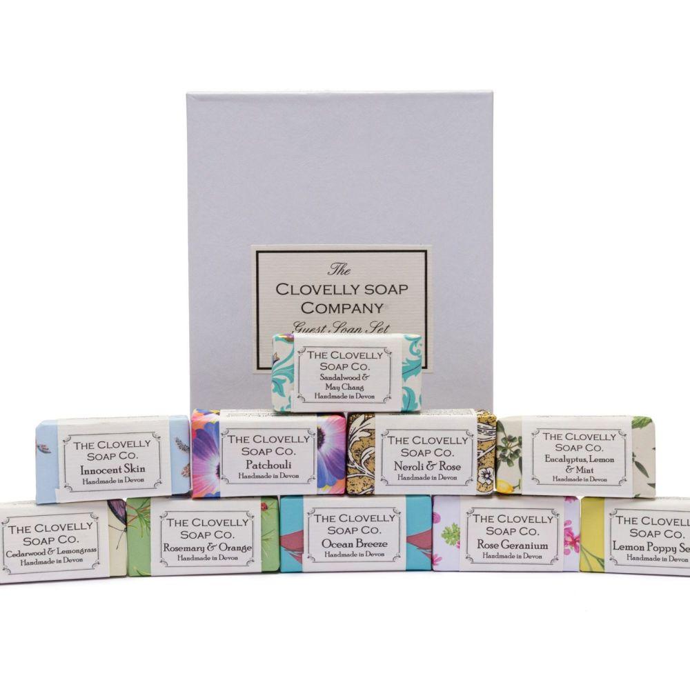 10  Bar Guest Soap Gift Set