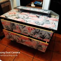 Flamingo Vintage Dressing Table