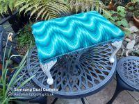 Ballantine Tapestry footstool