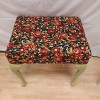 Brand New item, Rose dressing table stool.