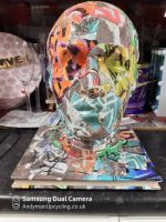 Graffitti Head for display