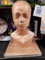 Bronze display head
