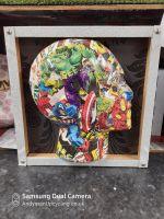 Half an Head 3D Art