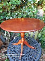 Claw footed vintage table