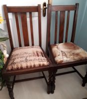 Pair of Vintage barley twists chairs