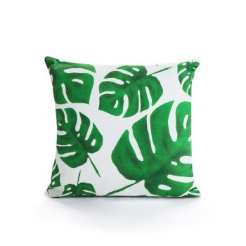 Botanical Leaf Cushion