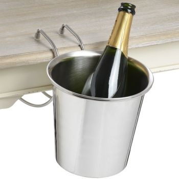 Clever Table Hanging Champagne Bucket