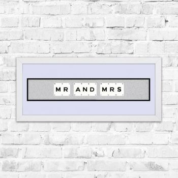 **OFFER** Mr and Mrs Playing Cards Art