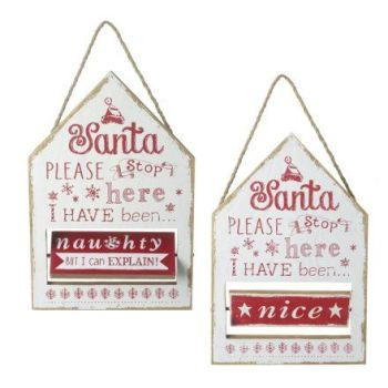 **REDUCED** WAS £5.00 NOW £3.00 Please Stop Here Hanging Plaque