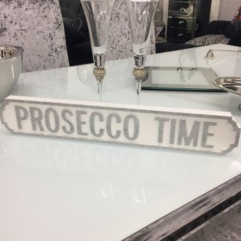 Mini Prosecco Time Vintage Road/Street Sign