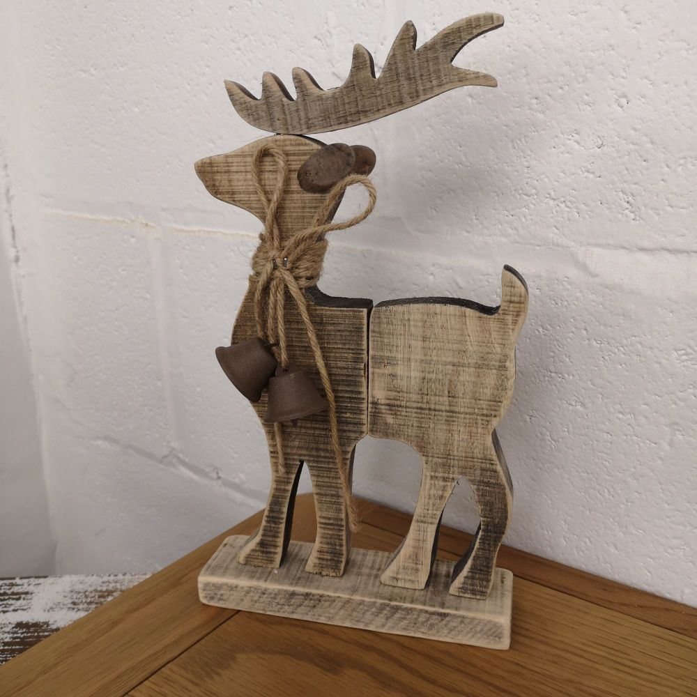 Driftwood Reindeer Decoration