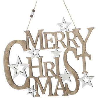 **REDUCED** WAS £6.95 NOW £5.00 Merry Christmas Sign
