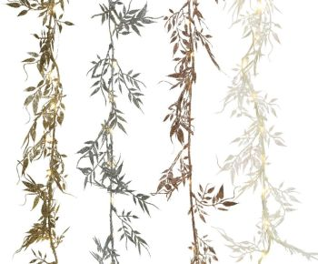**REDUCED** WAS £13.50 NOW £10.80 Assorted Micro LED Leaf Garlands