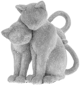 Couple Cat Bling Ornament