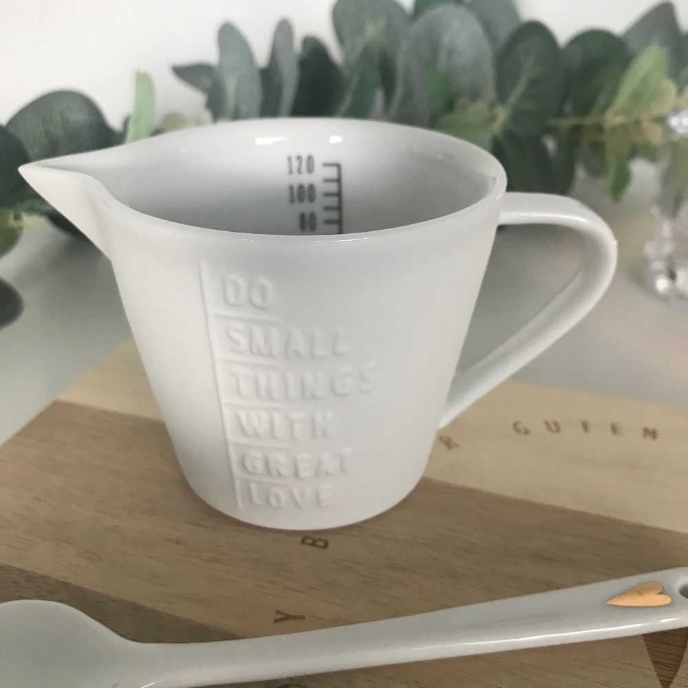 Measuring Jug Do Small Things with Great Love