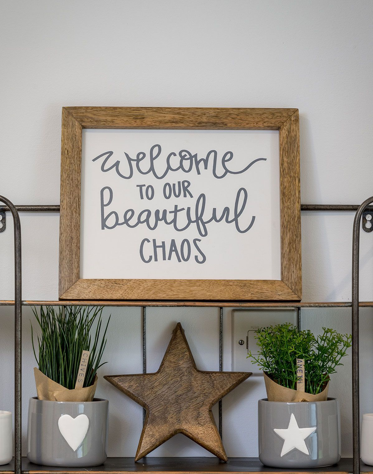 WELCOME TO OUR BEAUTIFUL CHAOS FRAME PRETTY INTERIORS