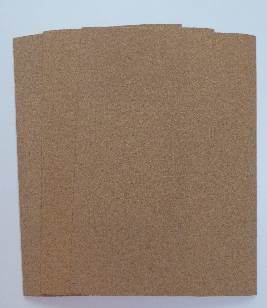 3 A4 Taster Cork Sheets from Javis Scenery