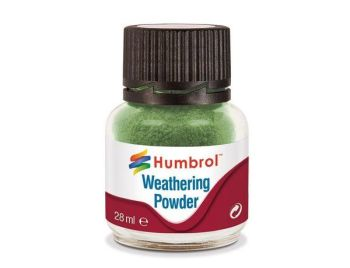Humbrol Weathering Powder 28ml  Chrome Oxide Green