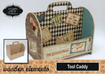 Stamps Away collection MDF Tool Caddy