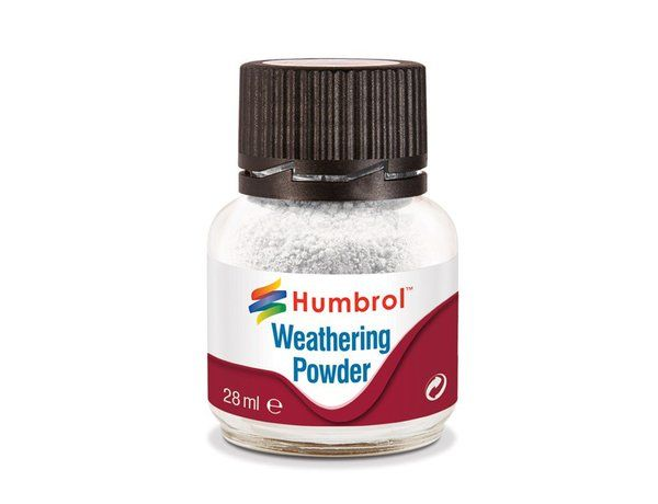 Humbrol Weathering Powder 28ml  White