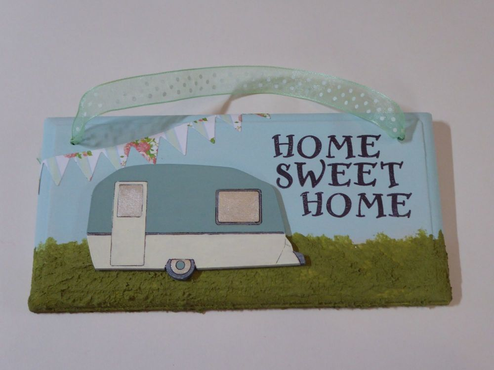 Fun Caravan Plaque
