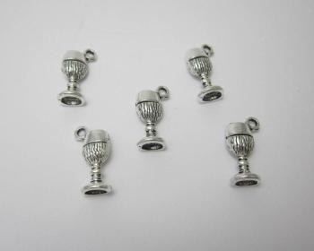 Chalice goblet charms x 5