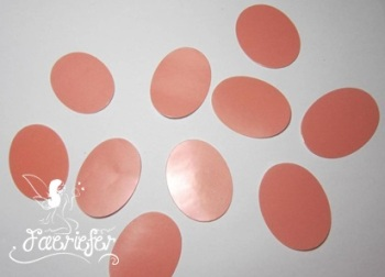 30 x 22 mm oval Craft seals for making glass dome jewellery