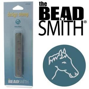 Beadsmith Metal Design Stamp - Horse Head 6mm