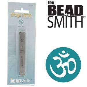 Beadsmith Metal Design Stamp - Om 6 mm