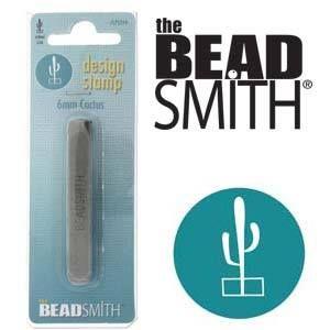 Beadsmith Metal Design Stamp - Cactus 6 mm