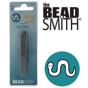 Beadsmith Metal Design Stamp - Snake 6 mm
