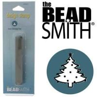 Beadsmith Metal Design Stamp - Christmas Tree 6 mm