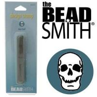 Beadsmith Metal Design Stamp - Skull 6 mm
