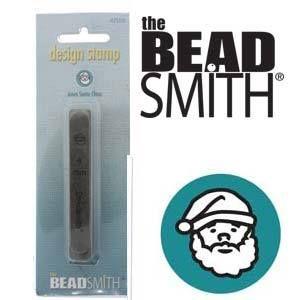 Beadsmith Metal Design Stamp - Santa Claus Father Christmas 6 mm