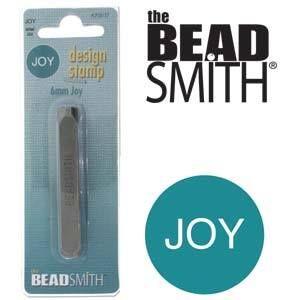 Beadsmith Metal Design Stamp - Joy 5x2.5mm