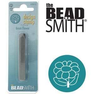 Beadsmith Metal Design Stamp - Flower 6 mm