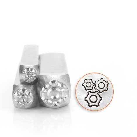 ImpressArt Gears Collection Punches (3pc)